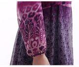 Les plus défunts femmes islamiques Chiffon porte la robe turque de vêtements de mode