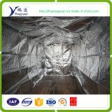Folha de alumínio/isolação reflexiva elevada tecida/metalizada do recipiente do animal de estimação