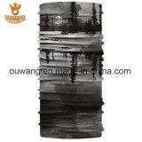 Custom напечатано дешевые оптовые многофункциональных Bandanas сшитых горловины трубку для продажи