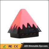 China barato 4 lâmpadas de tabela flexíveis da carga do diodo emissor de luz da cor da tomada portuária do USB multi