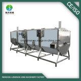 Aço inoxidável Screw Blancher / Máquina de lavagem de frutas e vegetais Food Blancher / continuamente pré-aquecimento Blancher
