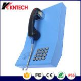 Telefone público para o atendimento Knzd-23 Kntech da linha de apoio a o cliente do serviço telefónico