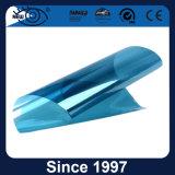 Venta caliente del 20% de cristal reflectante azul de la construcción de la película de tinte