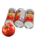 Pasta de tomate enlatada asséptica 160g