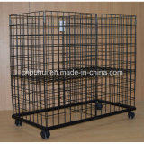 Grande formato arredondado Merchandise Recolhível Bin (PHY504)