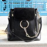 100% 진짜 가죽 핸드백 OEM 공장 Emg4906에서 숙녀를 위한 새로운 사슬 Deisgn 어깨에 매는 가방 2 크기