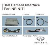 주차 가이드를 가진 2015-2016년 Infiniti를 위한 360 Panorama 사진기 정면 사진기 후방 사진기 공용영역 Q50/Q50L/Q60