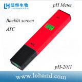 Economische pH van het Type van Pen van de Apparatuur van het Laboratorium Meter