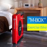 Strumentazione piegante di ginnastica di resistenza magnetica della bici di esercitazione della bici di forma fisica della costruzione di corpo