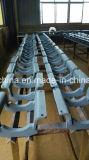 Protetor de China da trilha das peças sobresselentes da estrutura da máquina escavadora para PC300