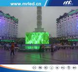 LED Intelligent& 씨 에너지 절약 옥외 P8 풀 컬러 발광 다이오드 표시 스크린