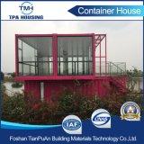 Chambre modulaire personnalisée 2 par étages de conteneur de taille dans le modèle à la maison