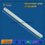 NanoプラスチックLED T8管3年の保証150lm/W 4FT 1200mmの18W