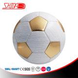 Sfera di calcio dorata di formato 5 del gioco classico del gioco