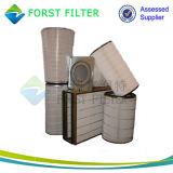 Cartucho de filtro de ar Cilíndrico e Conical Turbina de gás