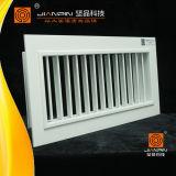 Grade de desvio único para grade de teto no ar condicionado em HVAC