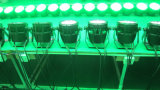 24pcs PAR LED DMX impermeable al aire libre puede luz