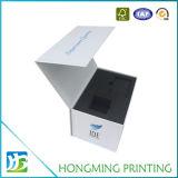 Caixa de papelão de presente de luxo com inserção de espuma