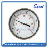 すべては温度計あらゆる角度の温度計調節可能なバイメタル温度計を曲げる