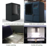 紫外線安定した材料SLAの産業3D印字機の印刷