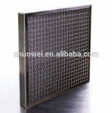 Filtro dell'aria di alluminio lavabile della maglia del metallo