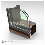 Aluminio / aluminio de extrusión de perfiles para puertas y muros cortina de Windows