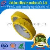 Cinta adhesiva amarilla limón del papel de Crepe de la fábrica de China