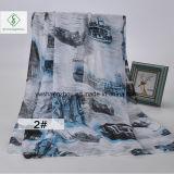 2017 neueste Dame Fashion Scarf mit Schloss gedruckter Schal-Fabrik