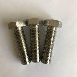 L'inconel601 2.4851 ISO4017 Uns N06601 Boulon à tête hexagonale