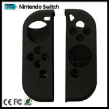 Pelle variopinta della cassa del silicone per il regolatore di Gioia-Imbroglione dell'interruttore della Nintendo