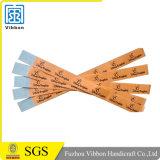 Wristband de papel de encargo barato para el partido y los acontecimientos