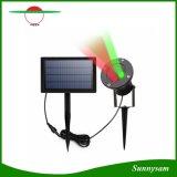 Lámpara solar al aire libre del paisaje de la luz laser para el proyector impermeable de la estrella del proyector de las lámparas de la decoración del día de fiesta de la Navidad de la yarda del jardín