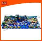 Jouets en plastique de cour de jeu molle d'intérieur avec la glissière de rouleau de nouveau produit pour l'enfant en bas âge