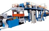 Automatische galvanisierte PU-Zwischenlage-Panel-Produktions-Maschine anpassen