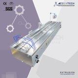 Linha de produção plástica de madeira da extrusão do frame de porta do PVC