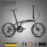 [هيغ-ند] [20ينش] [16سبيد] [ديسك برك] [ألومينوم لّوي] يطوي درّاجة درّاجة