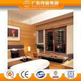 Wy-140gfd Isolierungs-Aluminiumflügelfenster-integriertes Fenster