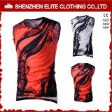 Fornitore delle magliette giro collo di stampa di sublimazione di modo di alta qualità (ELTVI-24)