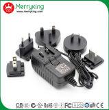adaptador de la corriente continua de la CA 18W con el Ce SAA PSE de la FCC de la UL