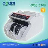 Ocbc-2108 Machine van /Counting van de Detector van het Geld van Mg de de UV/Teller van de Waarde van het Bankbiljet