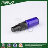 frascos de vidro do pulverizador do cobalto 15ml com o pulverizador preto da bomba da loção