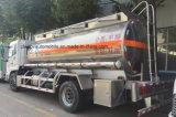 4X2 camión de transporte de petróleo a 15,000 litros de combustible de aleaciones de aluminio Camión cisterna
