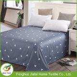 Lençóis de cama baratos na folha de cama impressa em algodão na China