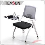School Student Steady Metal Foldable Meeting Conference Chair with Writing Plate