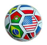 Land-Fußball-Kugel