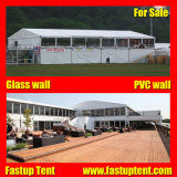 2018 Large White Double Decker chapiteau tente pour chambre VIP
