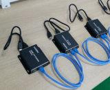 Extensor HDMI 150m, o receptor com Cat cascata de apoio portuário mais de 10 Níveis