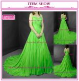 Мода вечерние платья, Ночной платье, шелк платье (ПГС001)