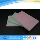 내화성이 있는 Gypsum Board 또는 Fireproof Drywall Board /Fire Resistance Plaster Board