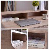 Таблица компьтер-книжки домашнего офиса для рабочей станции сочинительства в деревянной самомоднейшей форме